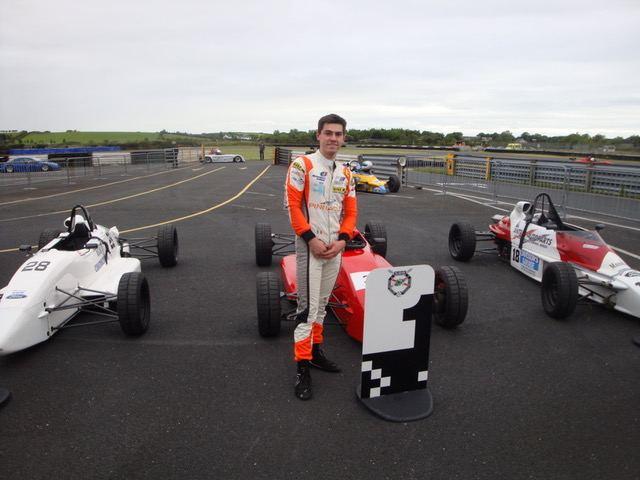 Jordan Dempsey, double winner in FF1600.(S3)