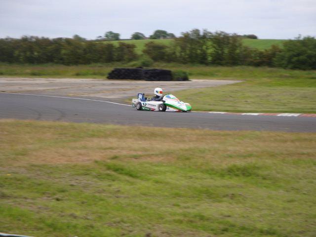 Peter Crossen won in the 125cc Superkarts.(S3)