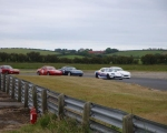 Close action in the Modi-5-Cup race as Paul Sheridan leads the pack.(S3)