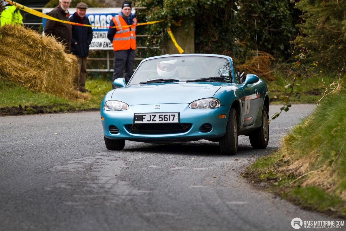Tony Hamilton - TSCC NI Croft Hillclimb 2013 - Mazda MX-5(S3)