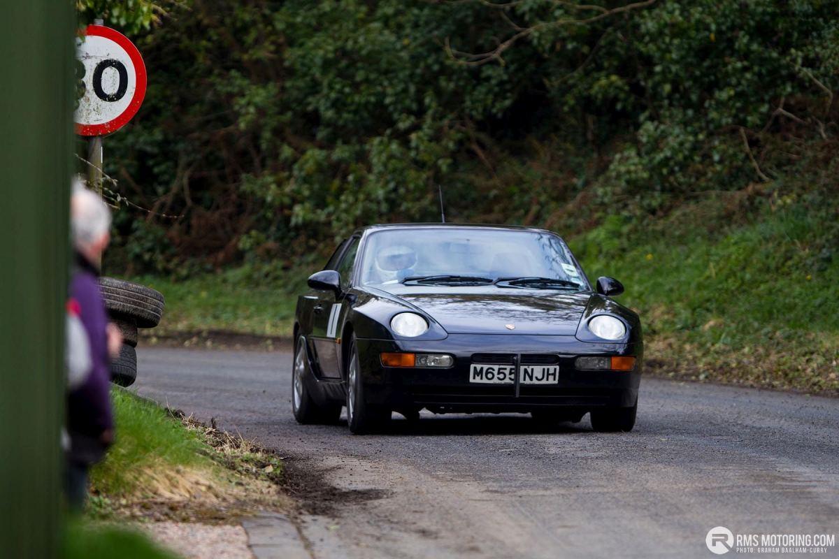 Tony Hamilton - TSCC NI Croft Hillclimb 2018 - Porsche 968(S3)