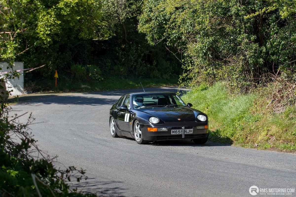 Tony Hamilton - TSCC NI Croft Hillclimb 2019 - Porsche 968(S3)