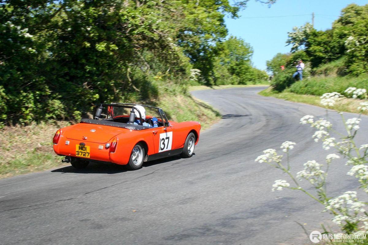 Tony Hamilton - TSCC NI Croft Hillclimb 2006 - MG Midget