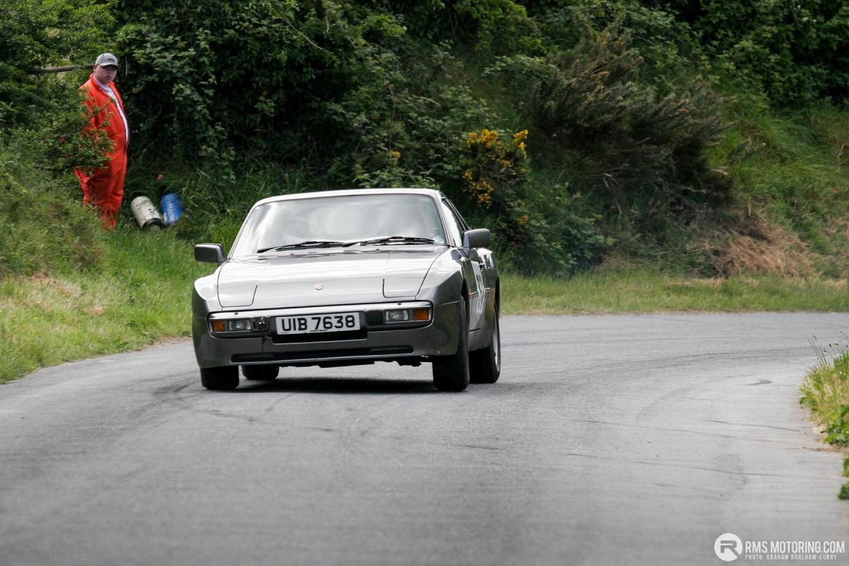 Tony Hamilton - TSCC NI Croft Hillclimb 2008 - Porsche 944(S3)