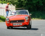 Tony Hamilton - TSCC NI Croft Hillclimb 2006 - MG Midget(S3)