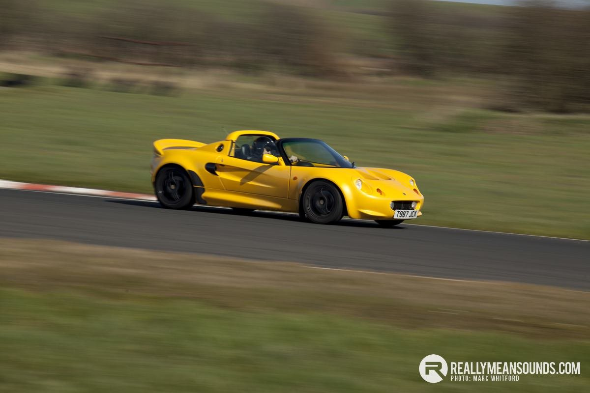 "Nicholas and his ""Princess"" Honda powered Lotus Elise"