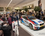 Tonight, Bavarian BMW on Boucher Crescent, Belfast, hosted three-time British Touring Car Championship winner, Portadown's Colin Turkington. With his season winning West Surrey Racing BMW 1-Series brought to Northern Ireland's capitol city for the event, hundreds of fans gathered to hear from Colin on how he clinched this years title. Picture - GRAHAM BAALHAM-CURRY(S3)