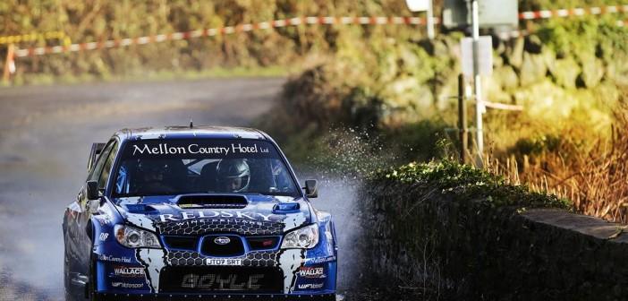 Boyle's First Big Win - Galway International Rally 2014