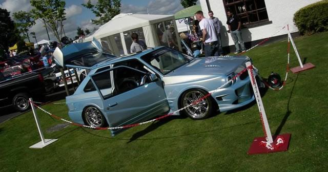 Performance Car Club Show at Tidy Doffer