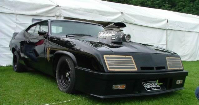 American Car Show at Kilbeggan