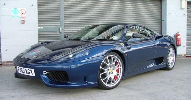 Ferrari Track Day at Silverstone
