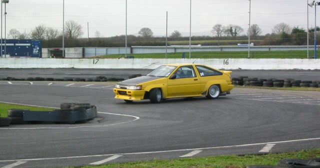D1GP Drift Competition at Tipperary Raceway