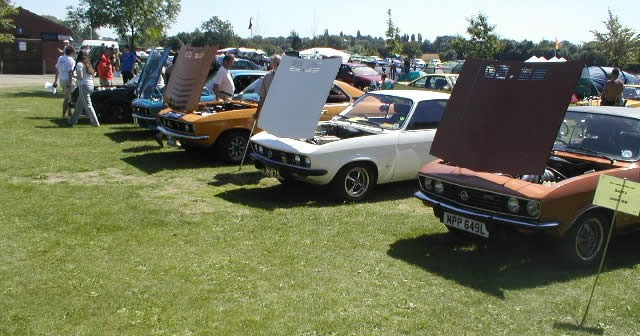 100 Years of Vauxhall at Billing Aquadrome