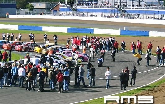 D1 Drift Exhibition at Silverstone Race Circuit