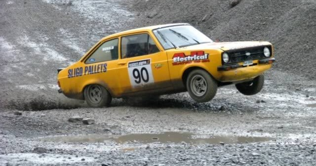 Eniskillen Clubman Rally at Carn Quarry