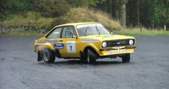 Davagh Stages Rally at Davagh Foest