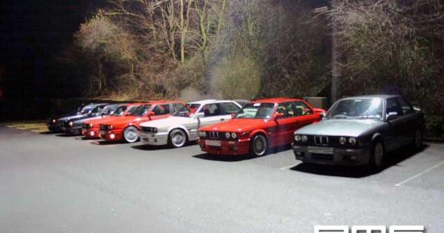 E30 BMW shoot at
