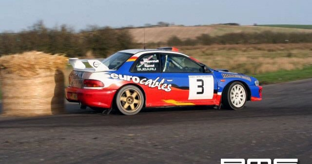 New Year Stages Rally at Kirkistown Race Circuit