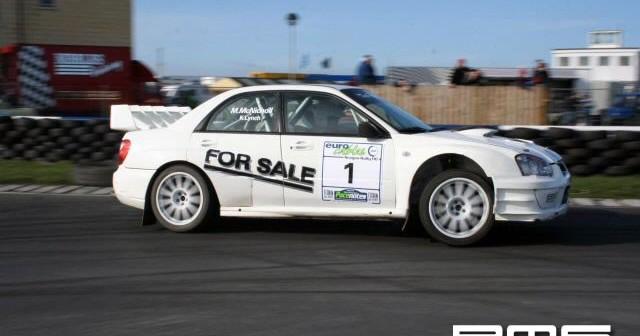 Eurocables Rally at kirkistown Race Circuit