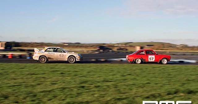 Rally of 1000 Entries at Kirkistown Race Circuit