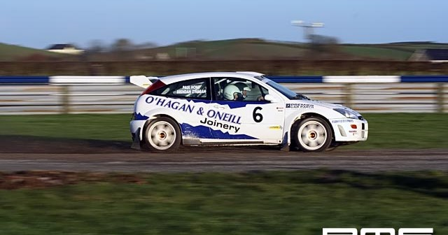 New Years Stages Rally at Kirkistown Race Circuit
