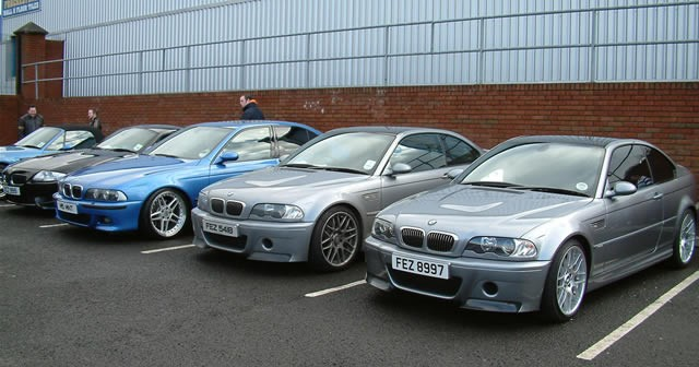 NI BMW M Power Show at Car Care Centre
