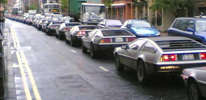 DeLorean 25th Anniversary at DeLorean Factory