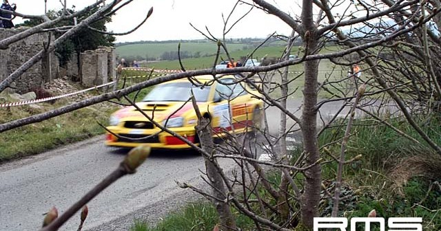 UAC Easter International Rally at Sperrin Mountains