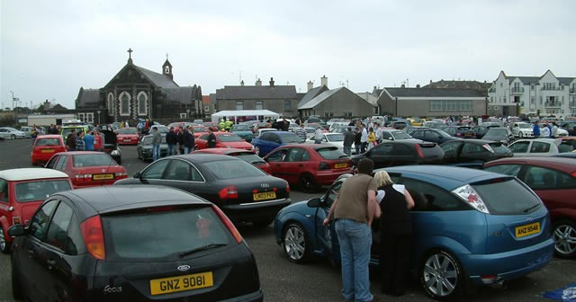 North Coast Cruisers Charity Event at Portrush
