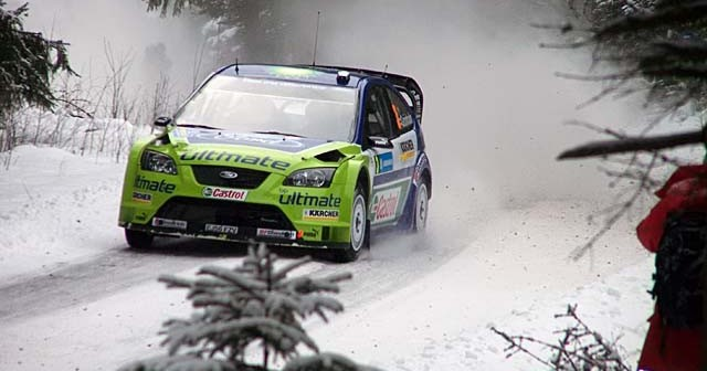 Uddeholm Swedish Rally at Sweden
