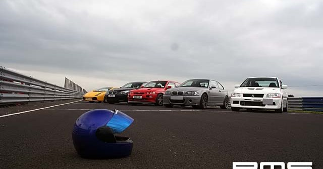 Track Test Session at Kirkistown race Circuit