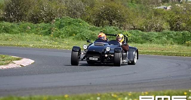 TrackSkills trackday at Kirkistown race Circuit