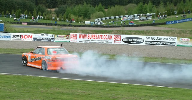 EDC and Time Attack at Knockhill