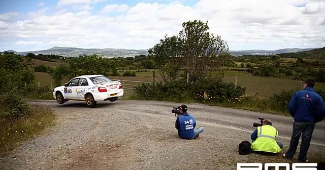 Donegal International Rally at Letterkenny HQ