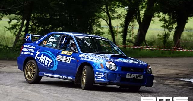 Lough Neagh Stages Rally at Moneyglass Demense