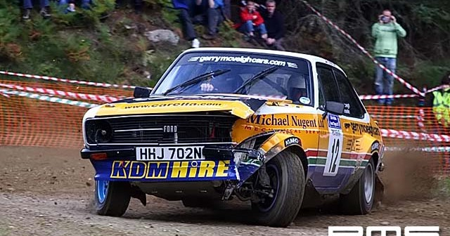 Colin McRae Stages at Forestry Land