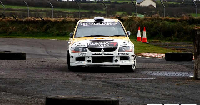 New Year Stages 2009 at Kirkistown Race Circuit