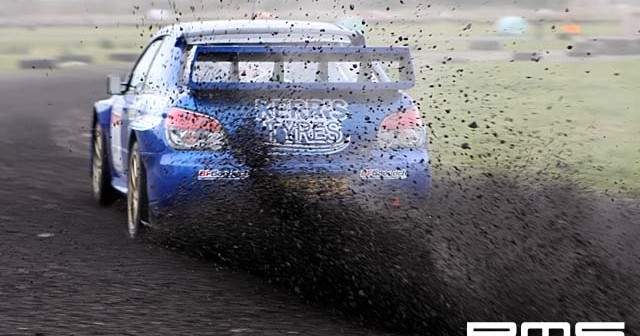 Eurocables Stages rally at Kirkistown Race Circuit