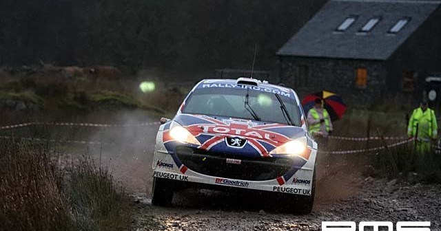 IRC Rally Scotland... at Stirling