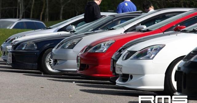 Honda Meet at Oxford Island
