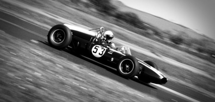 Classic F1 Car and AC Shelby Cobra at kirkistown