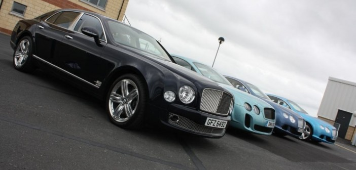 Bentley Test Day at Kirkistown