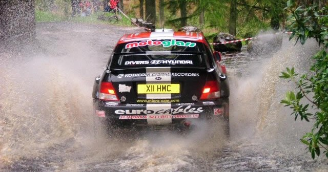 Ballypatrick Stages Rally at ballypatick forest & torr head