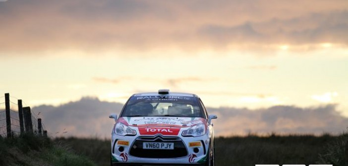 Todds Leap Ulster Rally 2012 at Junction 1