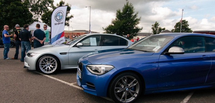 NI BMW Charity Show at Castle Car Park
