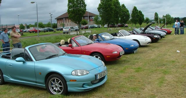 Modified & Classic Show at Allen Park Rugby Club