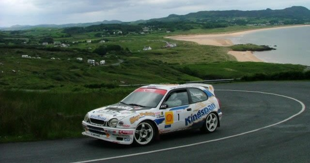 Donegal International Rally at Letterkenny