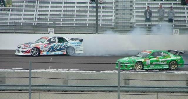 GT Battle at Rockingham Motor Speedway