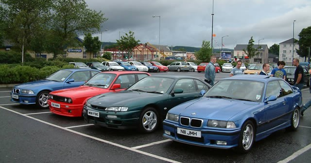 Carrick Cruise at Castle Car Park