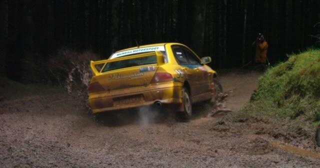 Toshiba Rally at Ballypatrick Forest Park